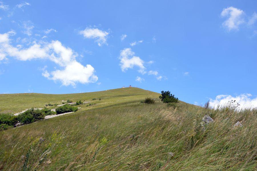 Вершина горы Бештау