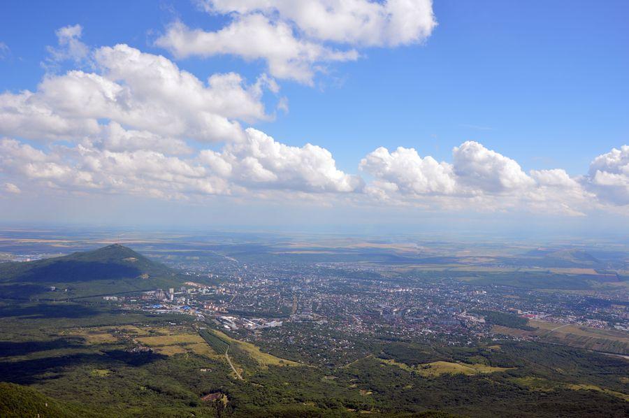 Гора Машук и Пятикорск