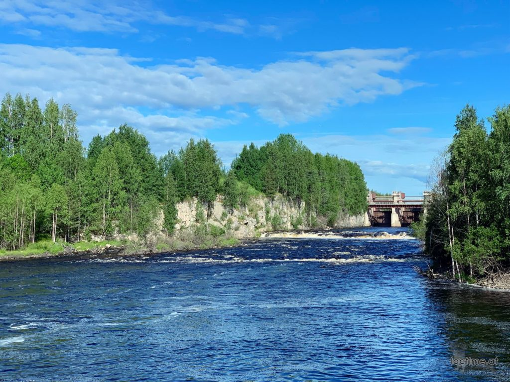 плотина №21 на реке Нижний Выг