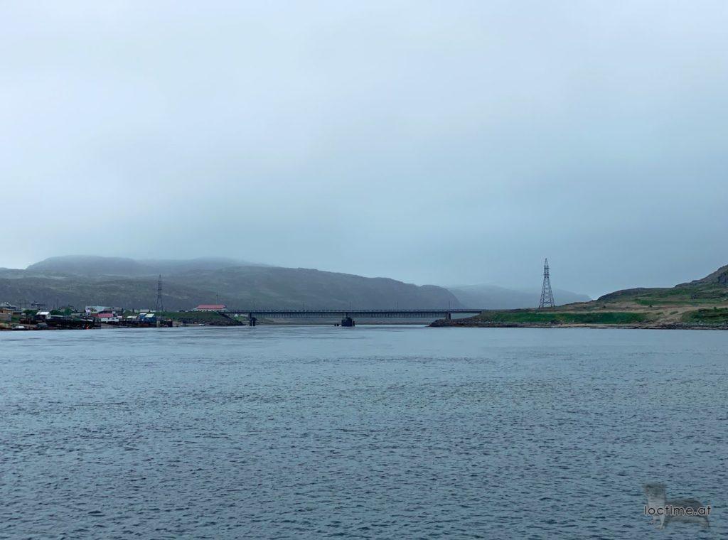 мост через реку Териберка