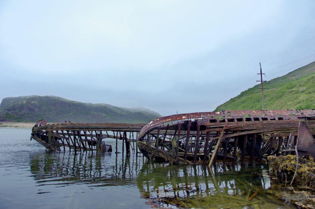 Териберка, кладбище кораблей