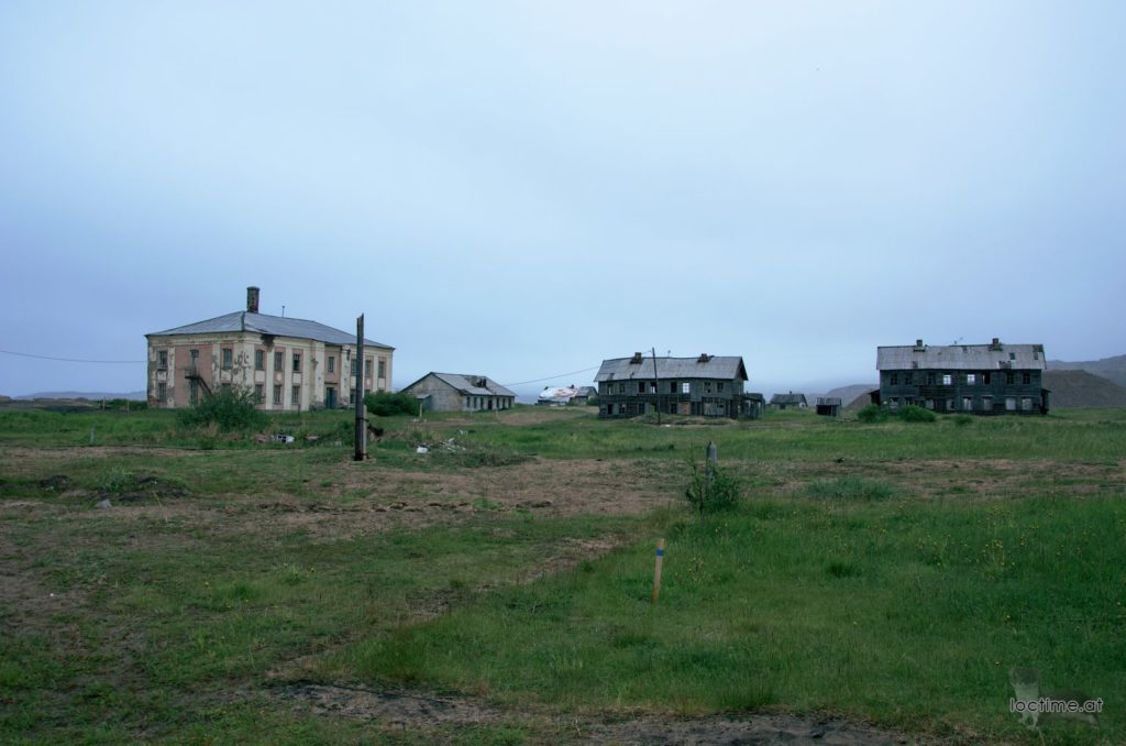 Териберка, старый посёлок