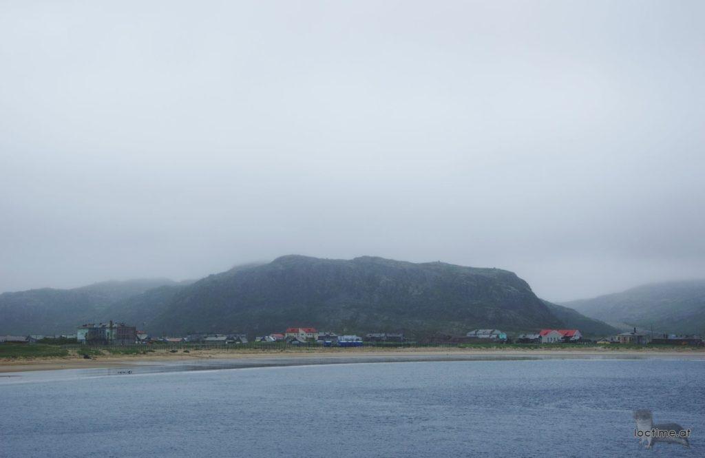 Териберка, вид на горы